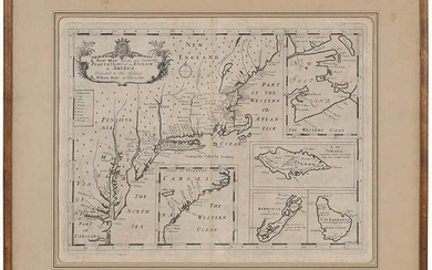 Sutton Nicholls Map Plantations in America