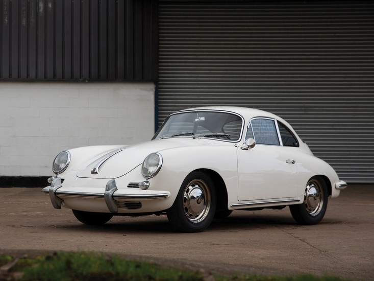 1965 Porsche 356 C 1600 C Coupé by Karmann