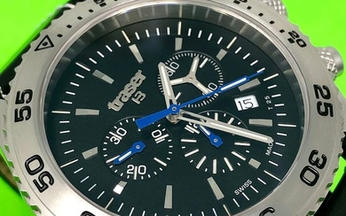 Traser - T5 Aurora Chronograph with Leather Strap Swiss Made - 106832 - Men - Brand New