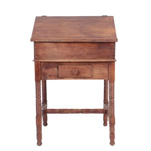 Antique Walnut And Cherry Two Piece