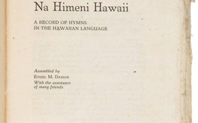 The printing of Christian hymns in Hawaiian