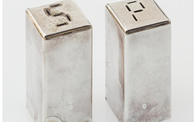 Artist Unknown, Salt and Pepper Shakers (circa 1940)