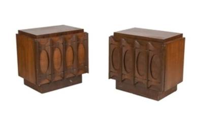 Brutalist Style Night Stands