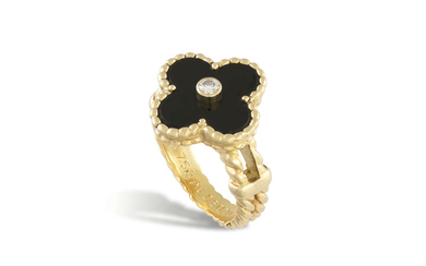 AN 'ALHAMBRA' RING, BY VAN...