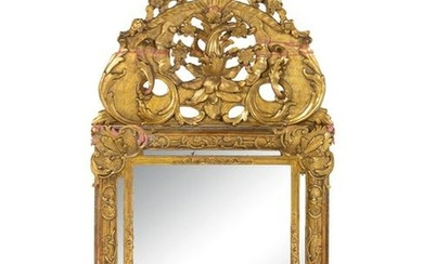A Regence Style Giltwood Mirror