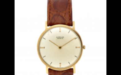 SARCAR Gent's 18K gold wristwatch 1950s/1960s Dial, movement and...