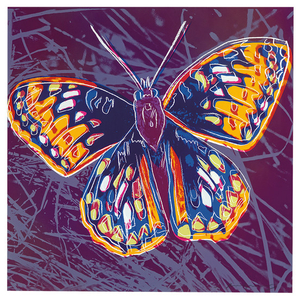 Andy Warhol - Andy Warhol: San Francisco Silverspot (from Endangered Species Portfolio)
