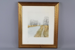 Limited Edition Barbara Murray Prints, framed and glazed.