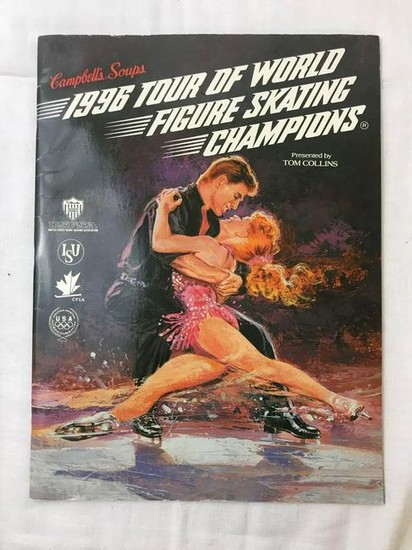 Tour Of The World Figure Skating Champions 1996 Program