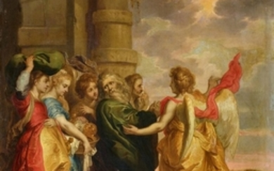 Wolfvoet II, The Flight of Lot and his Family out of Sodom