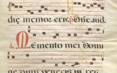 Double-Sided Antiphonal Leaf