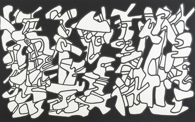 "Jean Dubuffet ""Evocations"" Screenprint"
