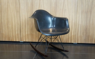 Charles Eames, Ray Eames - Herman Miller - Chair, RAR rocking chair