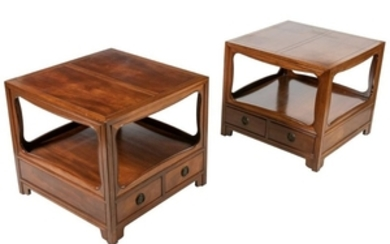 Baker - Walnut Night Stands