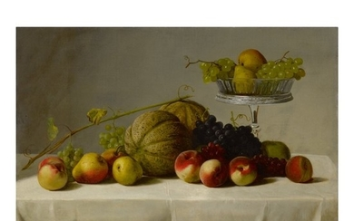 GEORGE HETZEL | STILL LIFE WITH SUMMER FRUIT