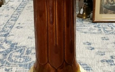 Late 19th Century French Majolica Pedestal