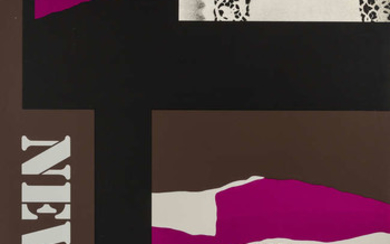 Louise Nevelson (1899-1988) A poster for Nevelson: Retrospective CNAC, 1974