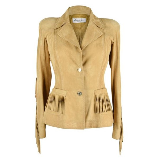 Christian Dior Jacket Shaped Divine Fringe Subtle