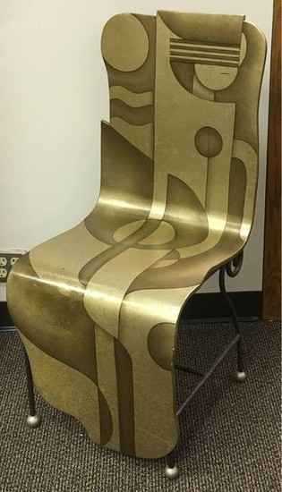 Lan Lee Design Custom His and Her's Chairs