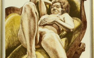 PHILIP PEARLSTEIN LITHOGRAPH ON PAPER, 1971
