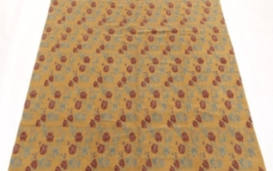 Tibetan/French Savonnerie Hand-Knotted Carpet
