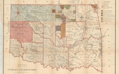 """Indian Territory"", General Land Office"