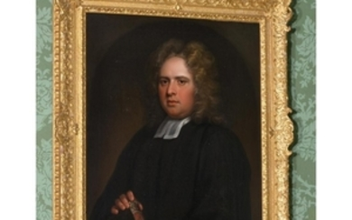 English School (c. 1760) Portrait of a young cleric