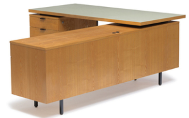 George Nelson - George Nelson: Executive desk with return