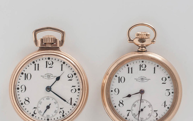 """Two Ball Watch Co. """"Official Standard"""" Open-face Watches"""