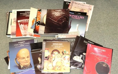 Auction catalogues, a large quantity from Bonhams,
