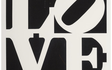 Robert Indiana (1928-2018), One Plate, from Book of Love (1996)