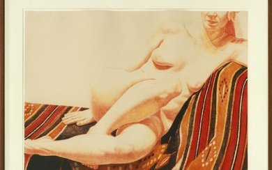 PHILIP PEARLSTEIN LITHOGRAPH, 1973