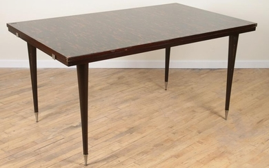 FRENCH MACASSAR DINING TABLE CIRCA 1950