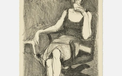 Richard Diebenkorn, Seated Woman Drinking from a Cup