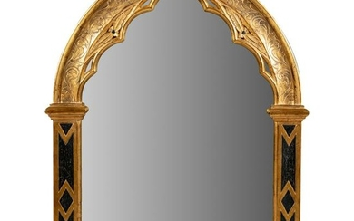 Dauphine - Gothic Style Giltwood Mirror