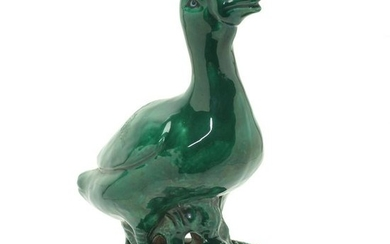 Chinese Green Glazed Duck