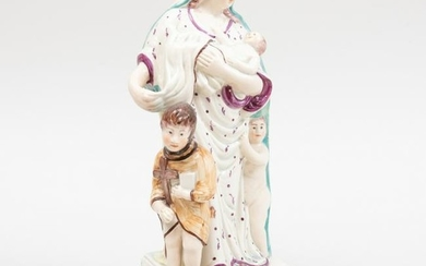 Staffordshire Pearlware Figure of Charity