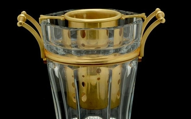 Baccarat Crystal 'Moulin Rouge' Champagne Bucket.