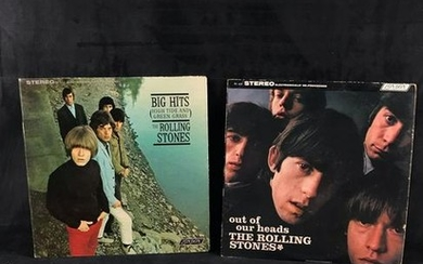Vintage Rolling Stones Vinyl Collection