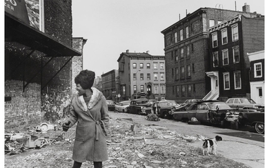 George Zimbel (b. 1929), A Group of Five Photographs from A Day in Bedford Stuyvesant, Brooklyn (1968)
