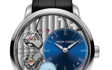 ARMIN STROM PURE RESONANCE ONLY WATCH 2019 This masterpiece upholds the craftmanship and tradition of watchmaking while pursuing technical innovation. With the Resonance movement and the special dial color it is the only one of its kind.,