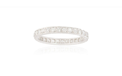 A DIAMOND ETERNITY RING, CIRCA...