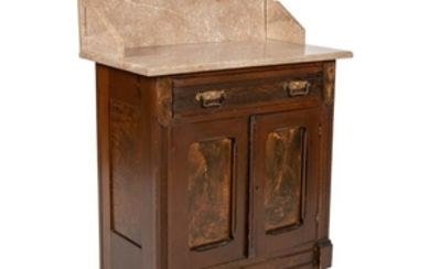 Eastlake Marble Top Dry Sink
