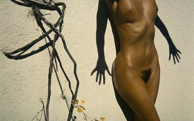 LUCIEN CLERGUE 1934-2015 UNTITLED (NUDE AND SHADOW) 1980 CIRCA
