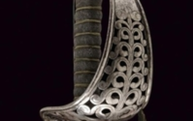 A PIACENZA HUSSAR OFFICER'S SABRE
