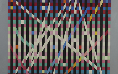 "Yaacov Agam ""Multimag #1"" Silkscreen"