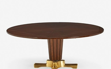 STYLE OF EMILE JACQUES RUHLMANN DINING TABLE
