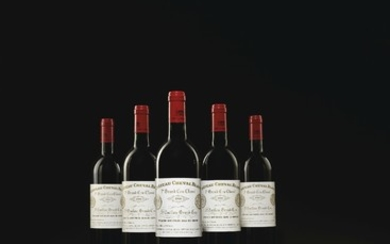 Château Cheval-Blanc 1990, 12 bottles per lot