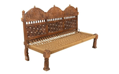 Moroccan Style Low Bench