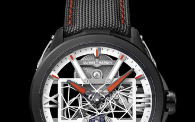 ULYSSE NARDIN EXO-SKELETON X A unique piece created to support Only Watch, inspired by Autonomyo, a walking exoskeleton for more freedom.,